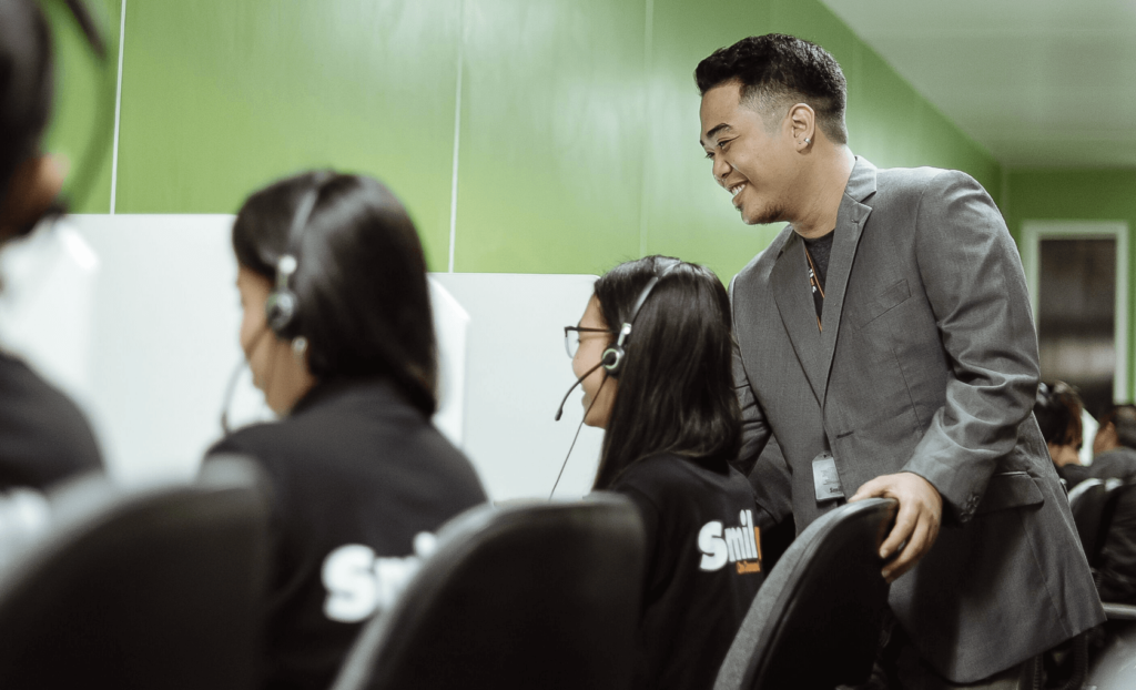 teams in the Philippines customer service reps