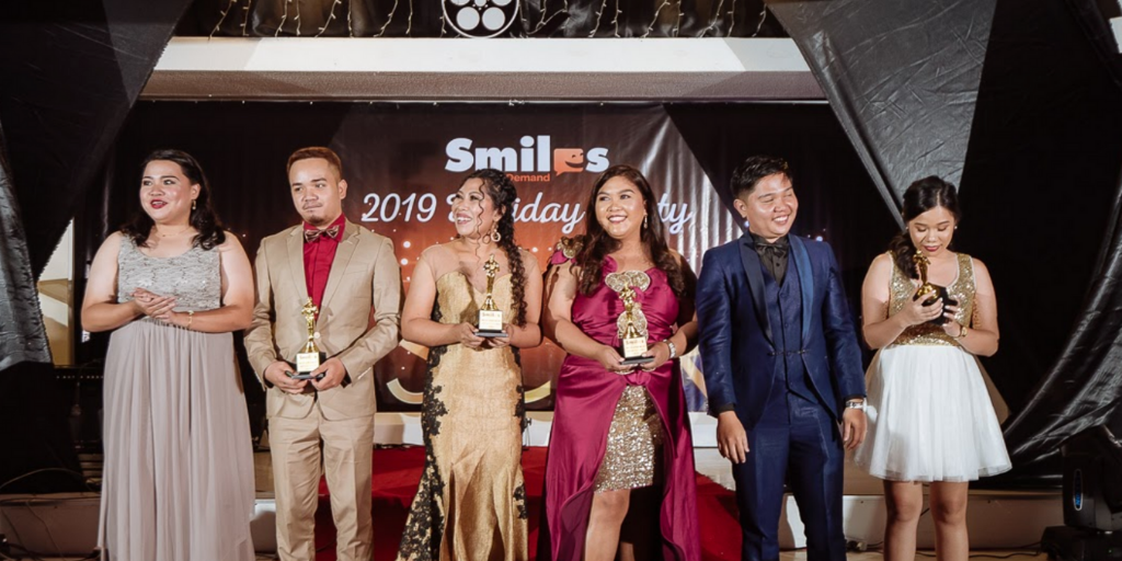 Smiles On Demand's Star-Studded Christmas Party 2019
